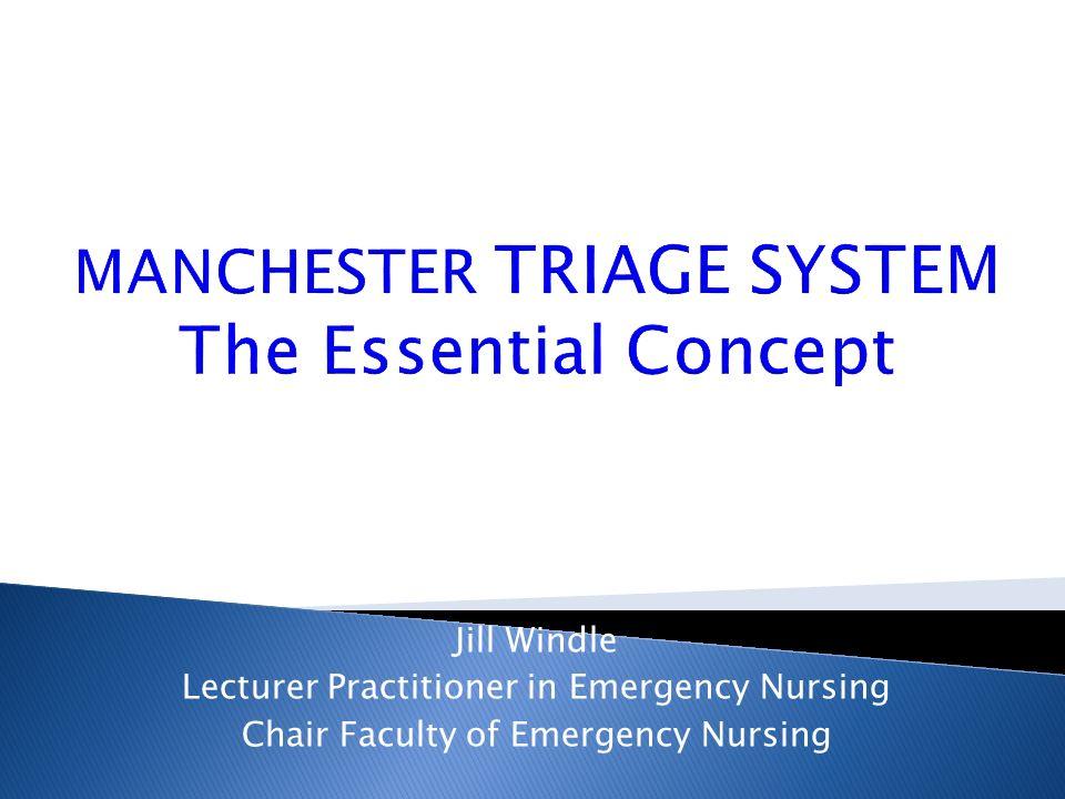 Inghilterra L impatto della normativa 1992 … prima valutazione entro 5 dall arrivo in A&Ed … 1997 Manchester Triage System La diffusione nel mondo