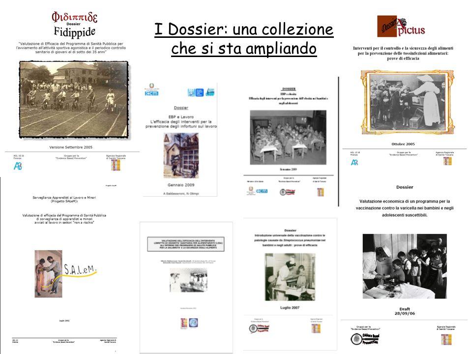 I Dossier: una collezione che si sta ampliando