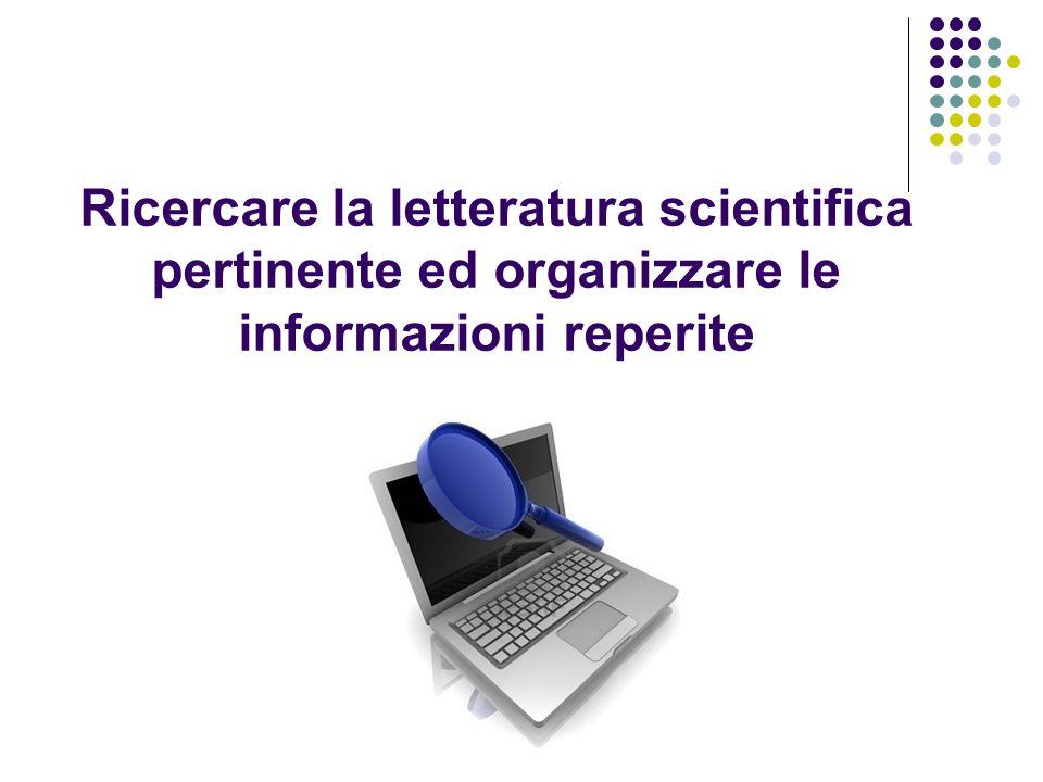 Campbell Collaboration (www.campbellcollaboration.org): rappresenta lequivalente della Cochrane Library per gli interventi sociali ed educativi.