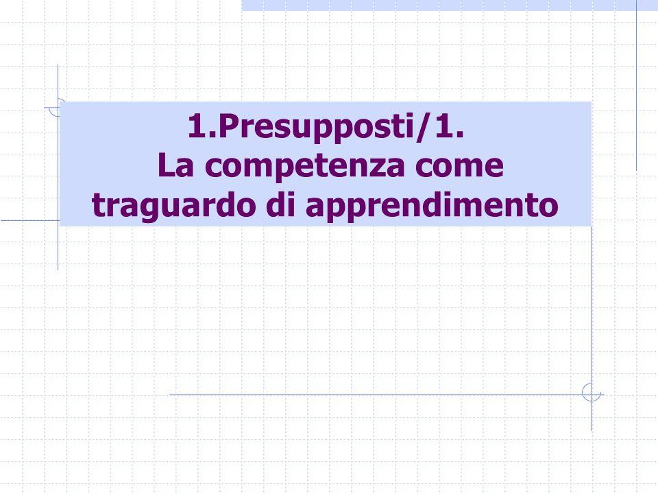 Maccario- La valutazione delle competenze degli studenti3 Competenza come mobilizzazione integrata di apprendimenti