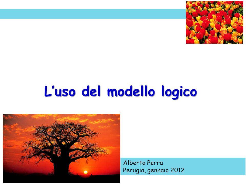 Alberto Perra Perugia, gennaio 2012 Luso del modello logico