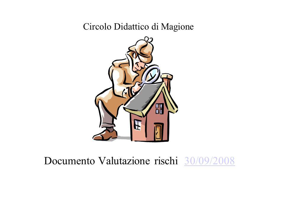 Documento Valutazione rischi 30/09/200830/09/2008 Circolo Didattico di Magione