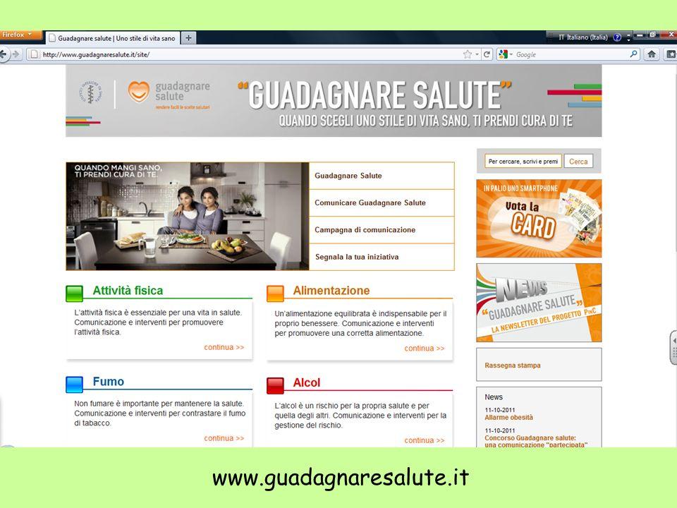 www.guadagnaresalute.it