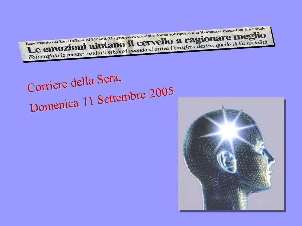 Corriere della Sera, Domenica 11 Settembre 2005