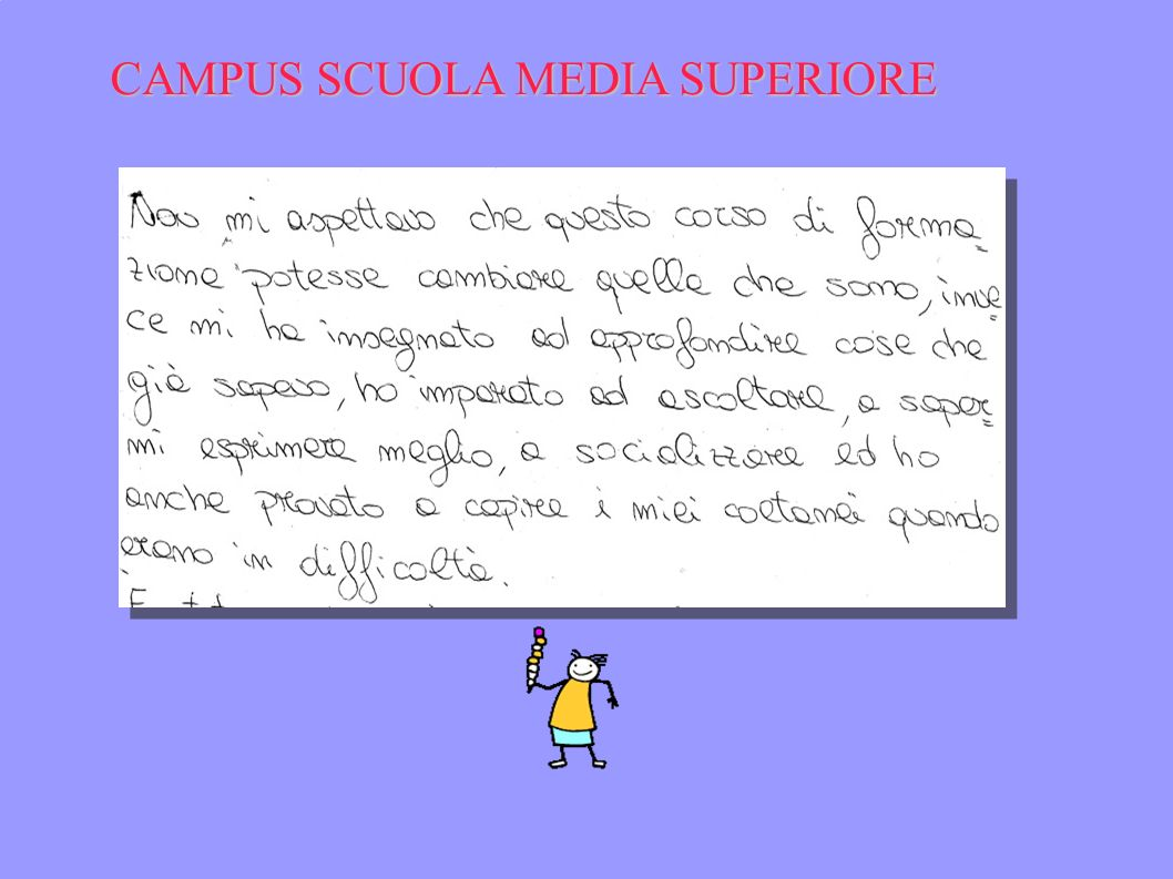 CAMPUS SCUOLA MEDIA SUPERIORE