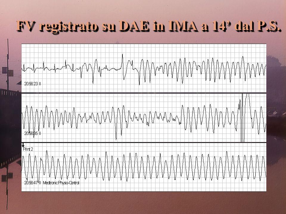 FV registrato su DAE in IMA a 14 dal P.S. FV registrato su DAE in IMA a 14 dal P.S.