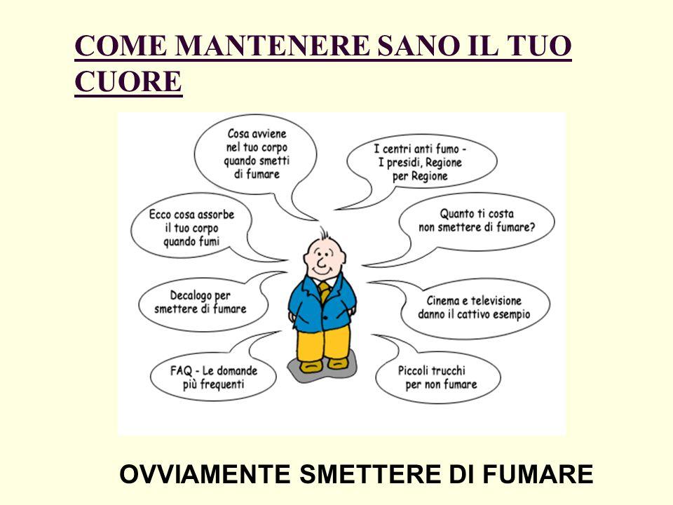 COME MANTENERE SANO IL TUO CUORE OVVIAMENTE SMETTERE DI FUMARE