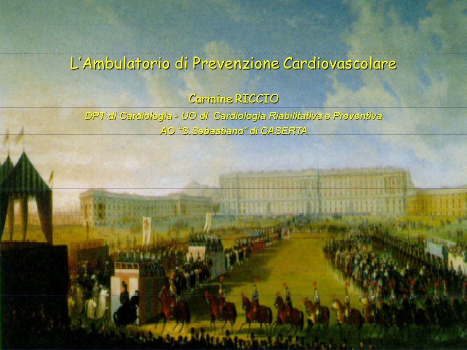 La riabilitazione del paziente operato di stenosi aortica congenita LAmbulatorio di Prevenzione Cardiovascolare Carmine RICCIO DPT di Cardiologia - UO