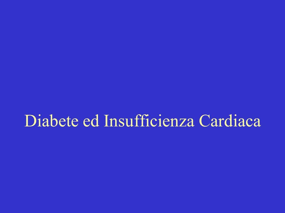 Diabete ed Insufficienza Cardiaca