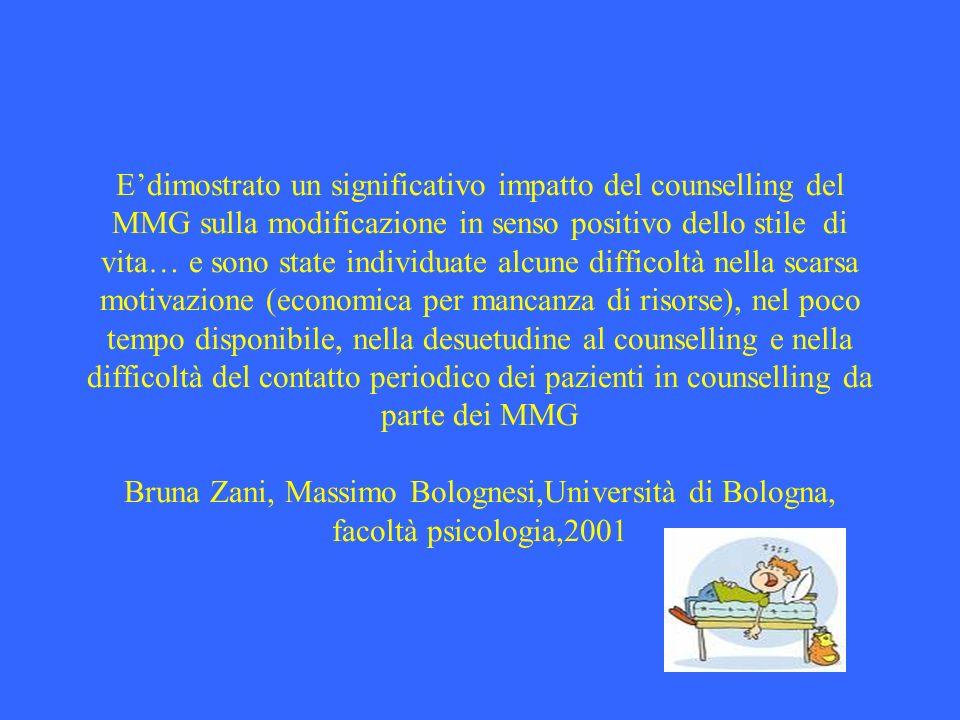I MMG non hanno formazione adeguata su come debba essere affrontato il problema obesità. Un recente sondaggio su 2500 pazienti, ha evidenziato che sol