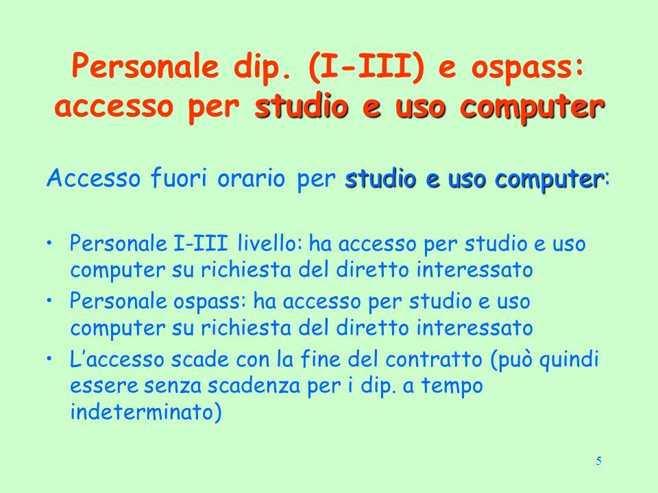 5 studio e uso computer Personale dip.