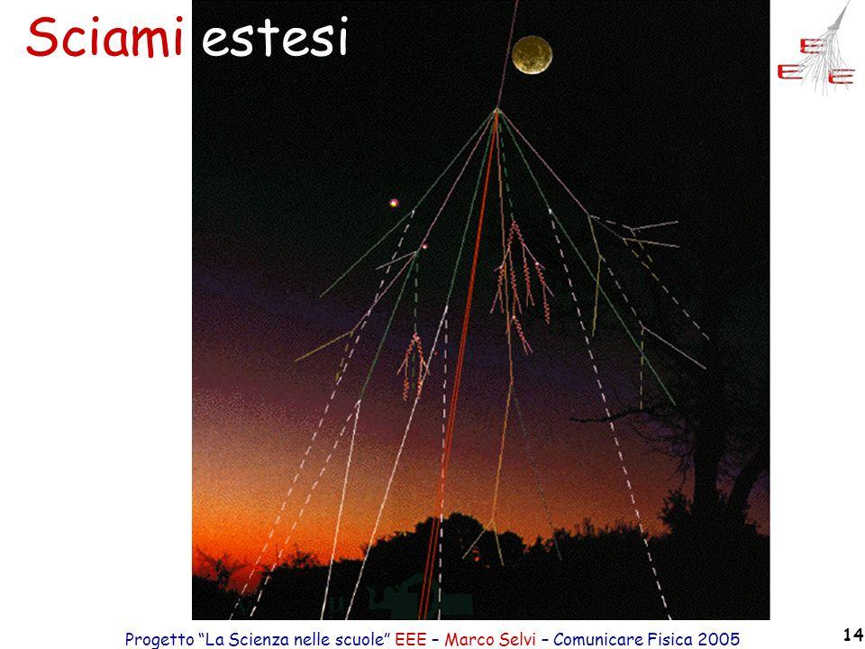 Progetto La Scienza nelle scuole EEE – Marco Selvi – Comunicare Fisica 2005 14 Sciami estesi
