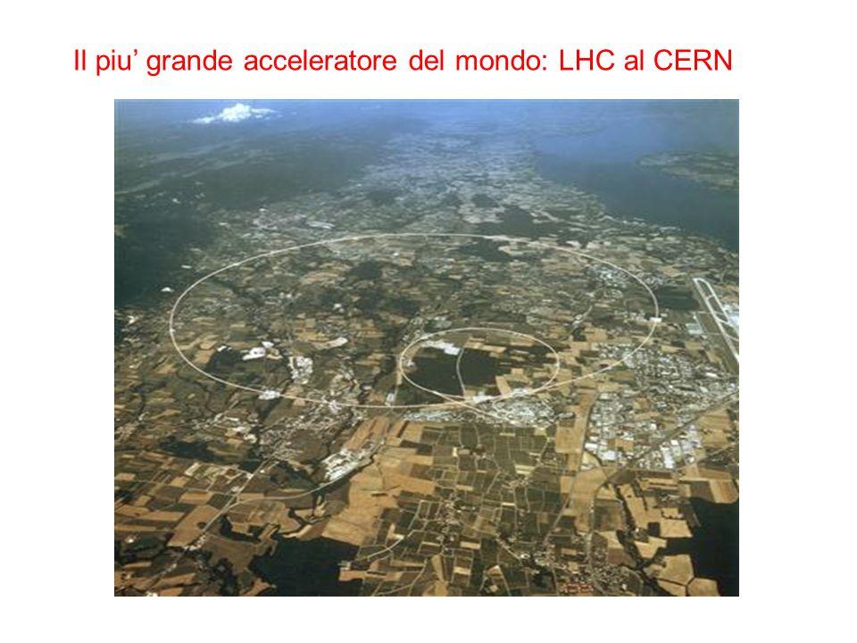 Il piu grande acceleratore del mondo: LHC al CERN