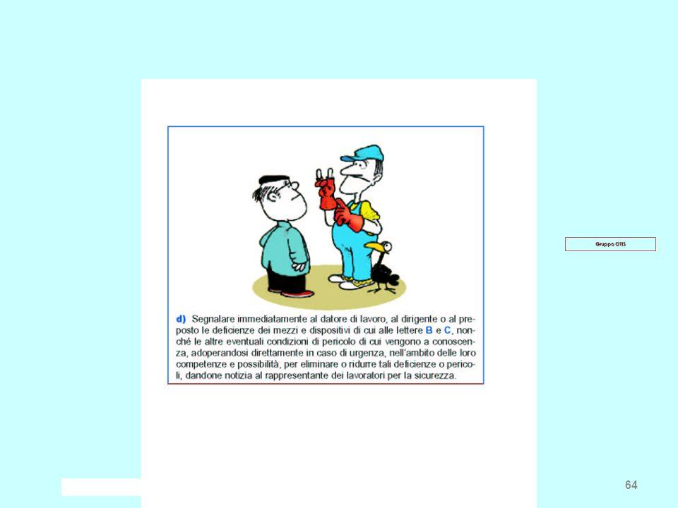 Frascati, 13 gennaio 2009 Paolo Villani - INFN Pisa 64 Gruppo OTIS
