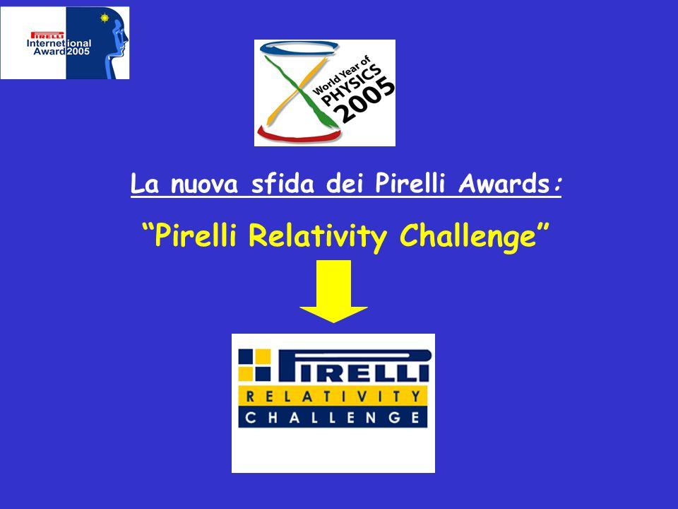 La nuova sfida dei Pirelli Awards: Pirelli Relativity Challenge