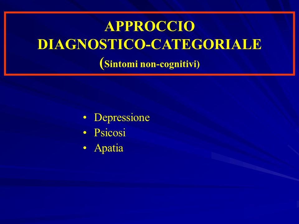 Deficit cognitivi post-bypass Coscienza normale Coscienza normale Questa è la condizione propria di una persona normale in stato di veglia.