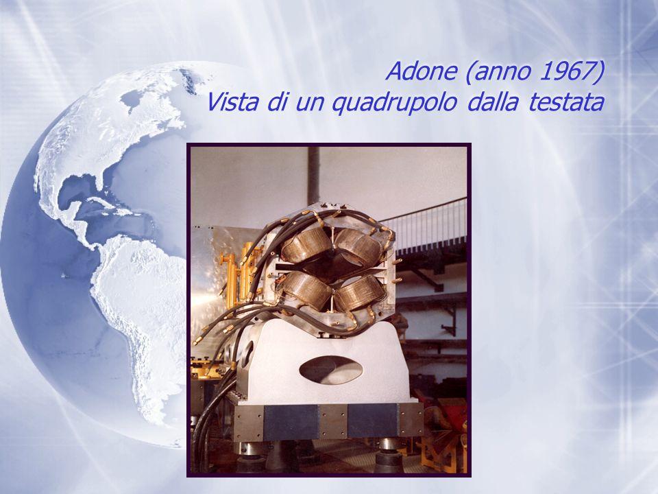 Adone (anno 1967) Vista di un quadrupolo dalla testata
