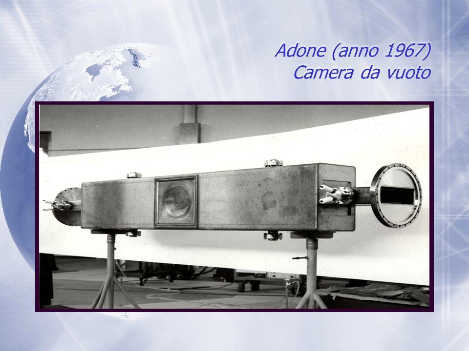 Adone (anno 1967) Camera da vuoto