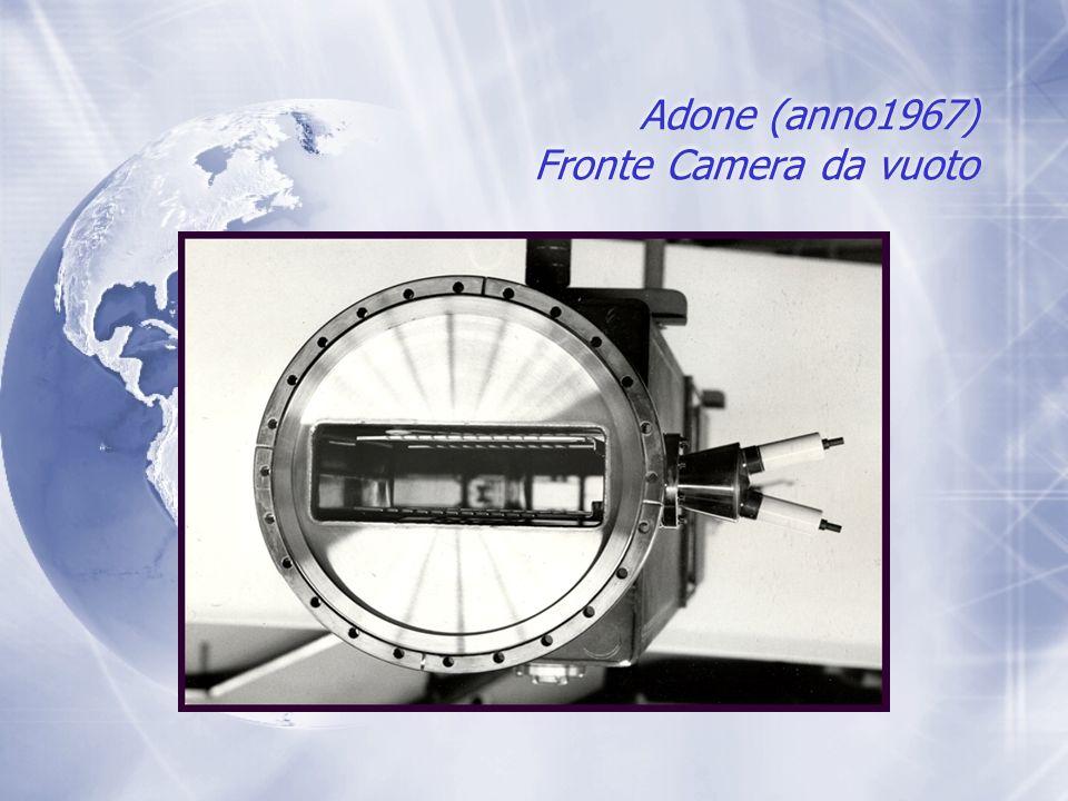 Adone (anno1967) Fronte Camera da vuoto