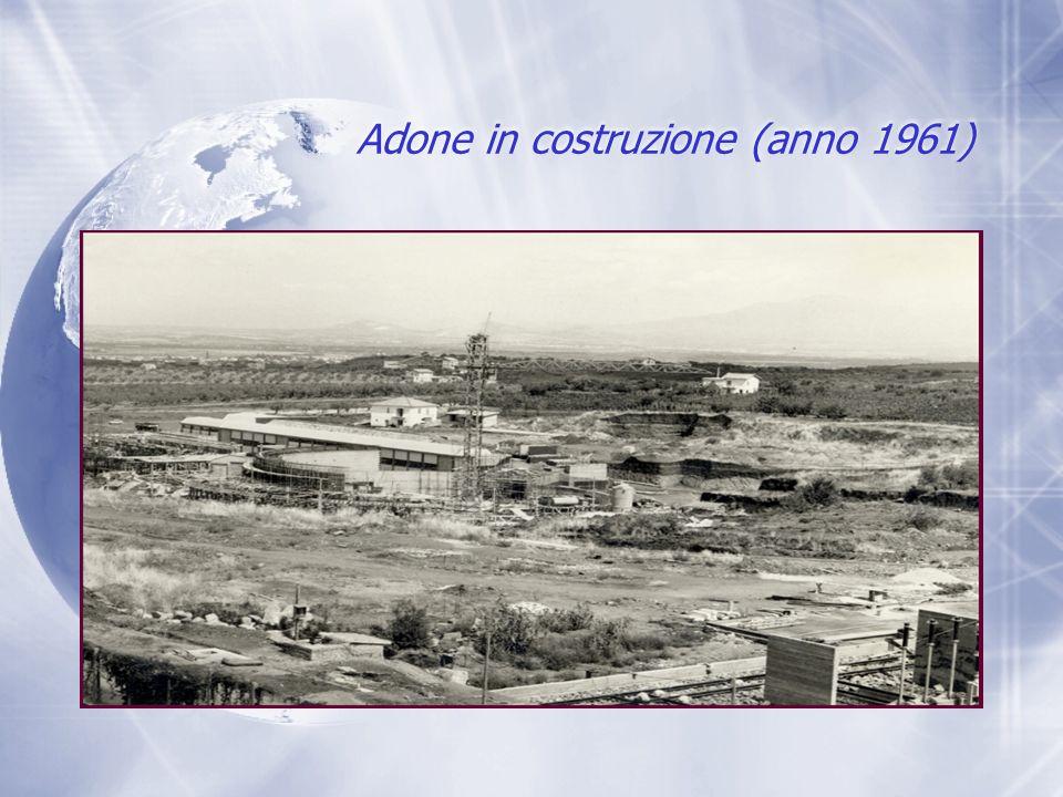 Adone in costruzione (anno 1961)