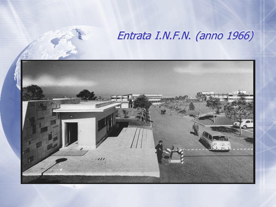 Entrata I.N.F.N. (anno 1966)