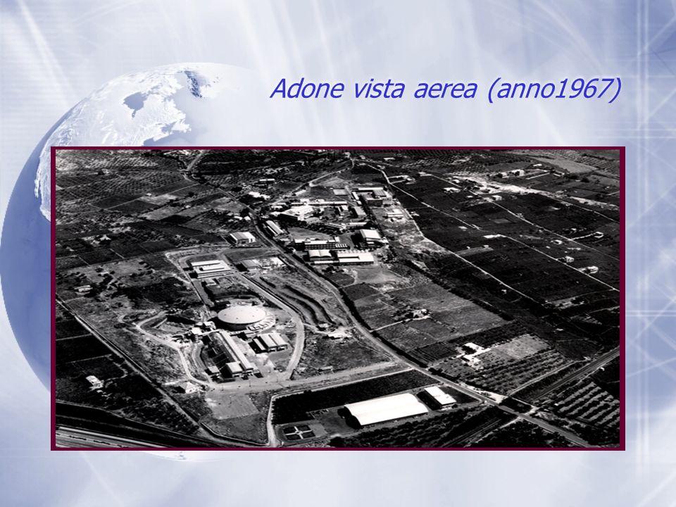 Adone (anno 1968) Cavità a radiofrequenza, Sala Anello
