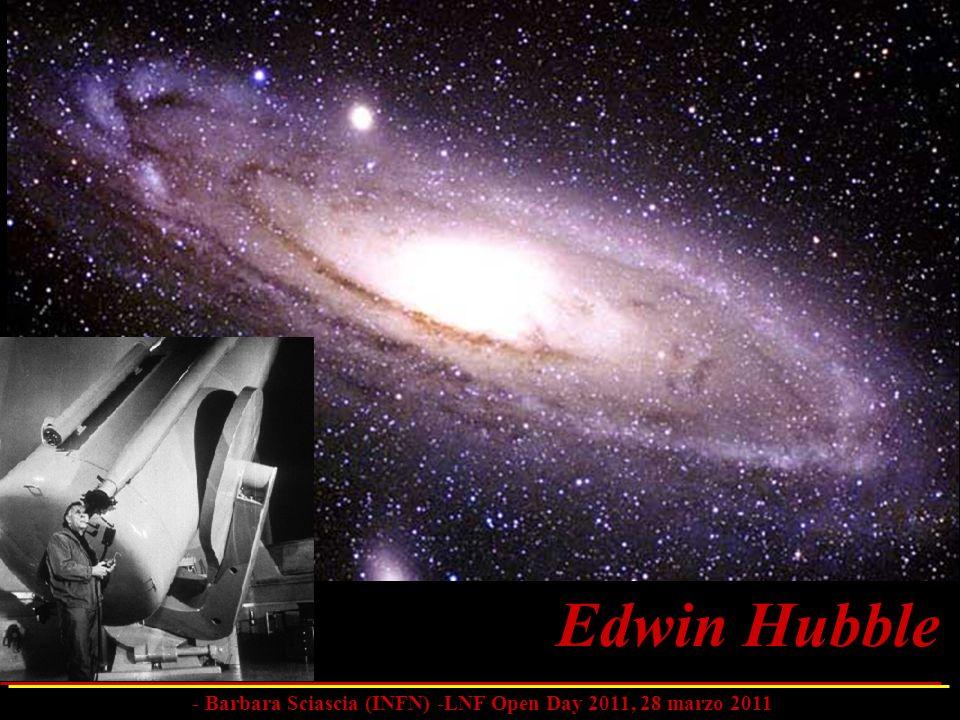 Edwin Hubble - Barbara Sciascia (INFN) -LNF Open Day 2011, 28 marzo 2011