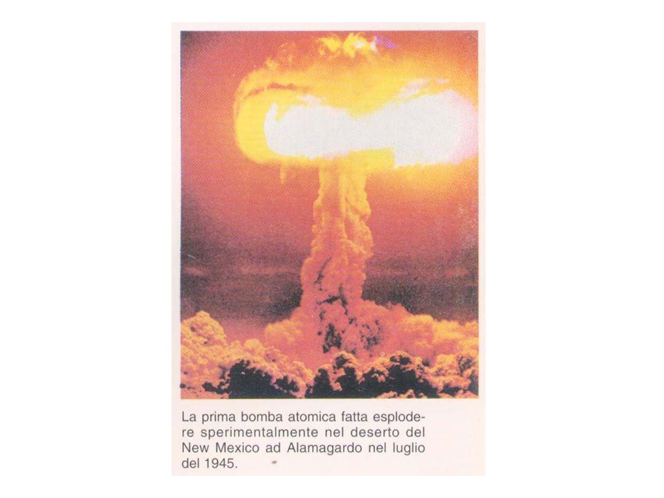 Esplosione tradizionale Massa Critica!! Massa sottocritica La Bomba Atomica