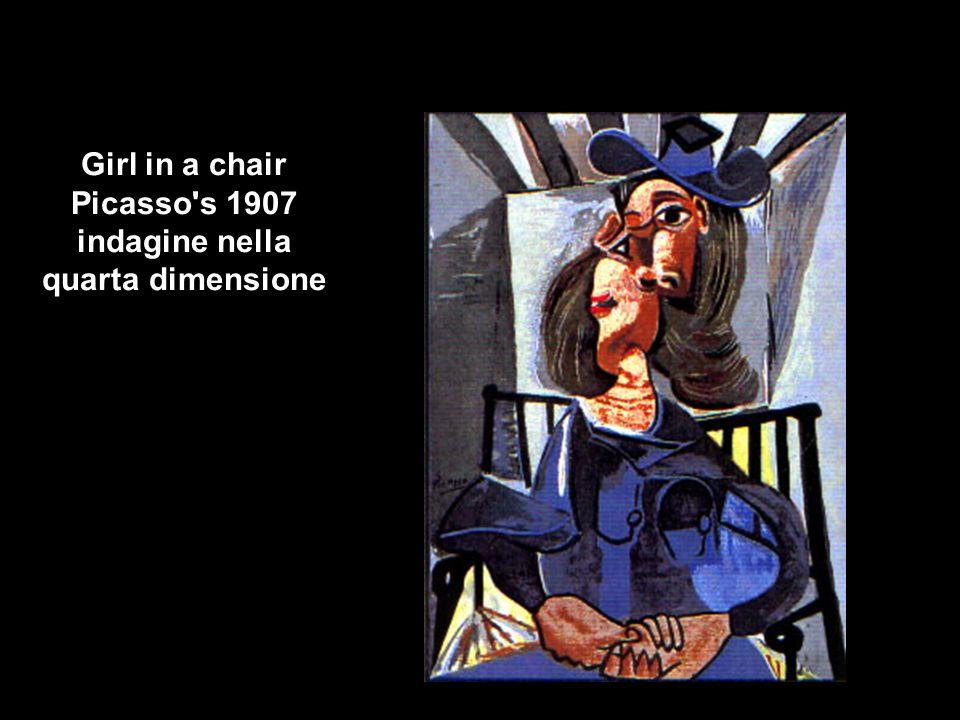 Girl in a chair Picasso's 1907 indagine nella quarta dimensione