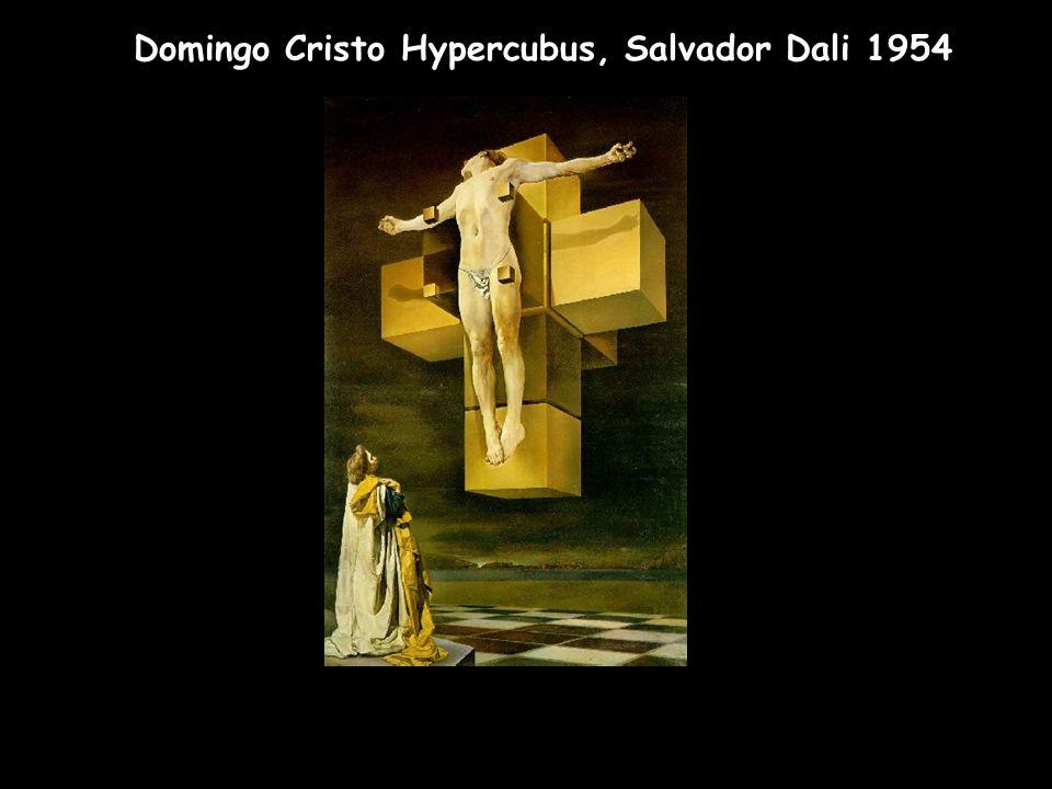 Domingo Cristo Hypercubus, Salvador Dali 1954