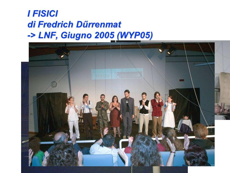 I FISICI di Fredrich Dűrrenmat -> LNF, Giugno 2005 (WYP05)