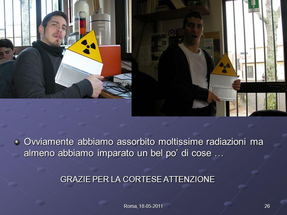 25Roma, 18-05-2011
