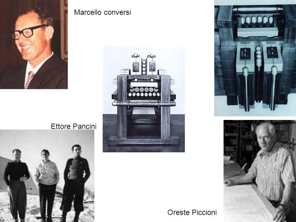 18 Marcello conversi Ettore Pancini Oreste Piccioni