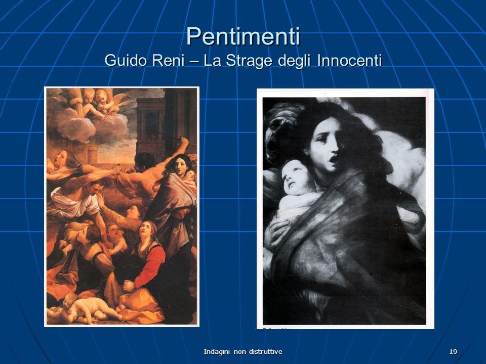 Indagini non distruttive19 Pentimenti Guido Reni – La Strage degli Innocenti
