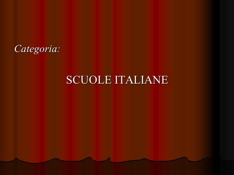 Categoria: SCUOLE ITALIANE