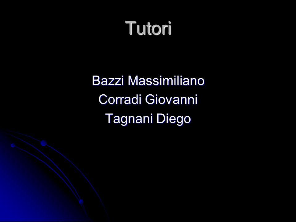 Tutori Bazzi Massimiliano Corradi Giovanni Tagnani Diego