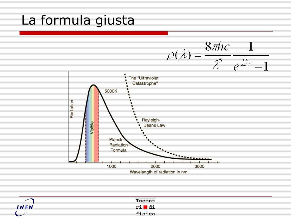 La formula giusta