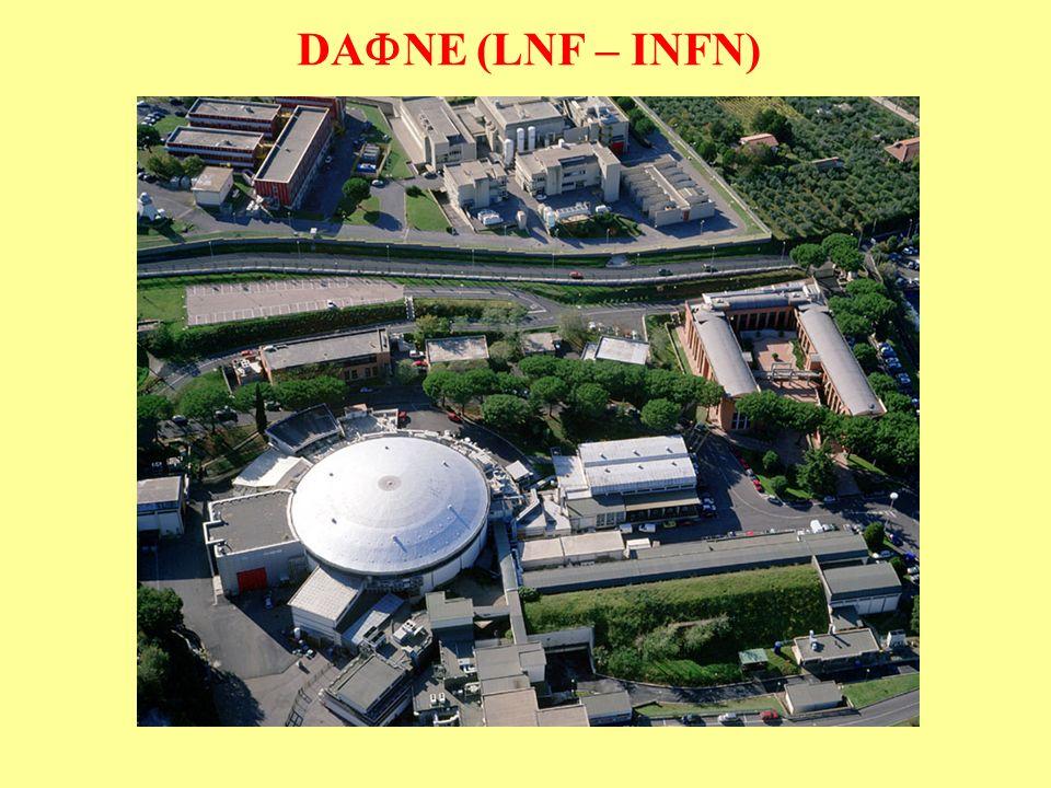 DA NE (LNF – INFN)