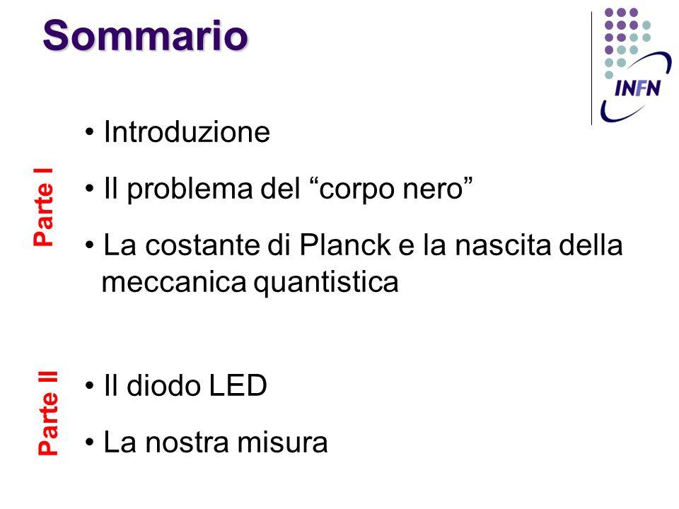 Il calcolo di Planck (2/2) Se chiamiamo: ma: vi è familiare?