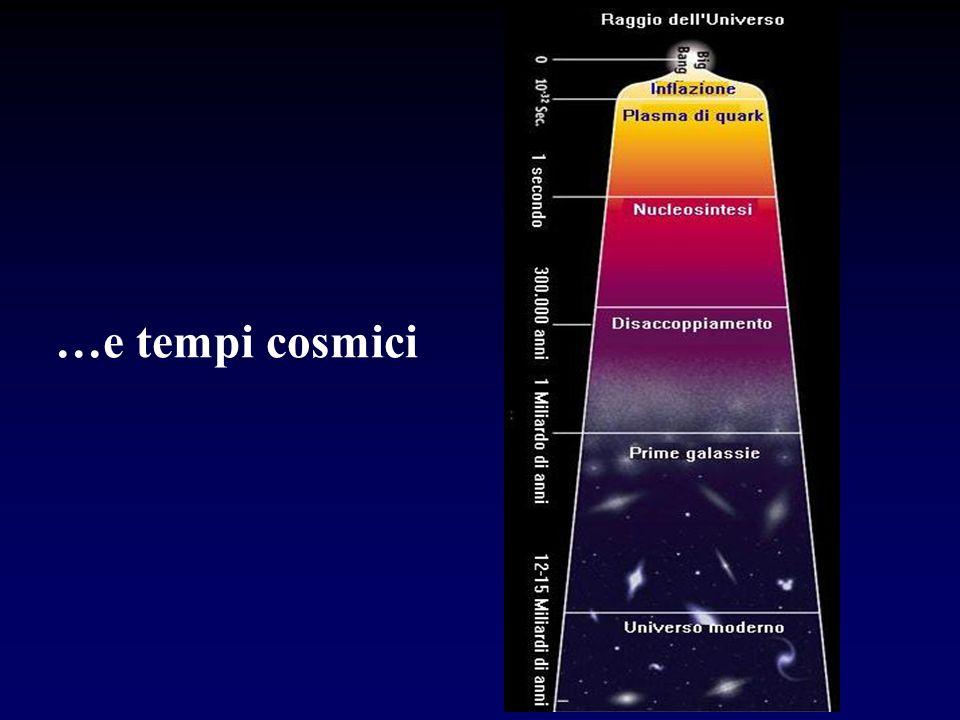 …e tempi cosmici