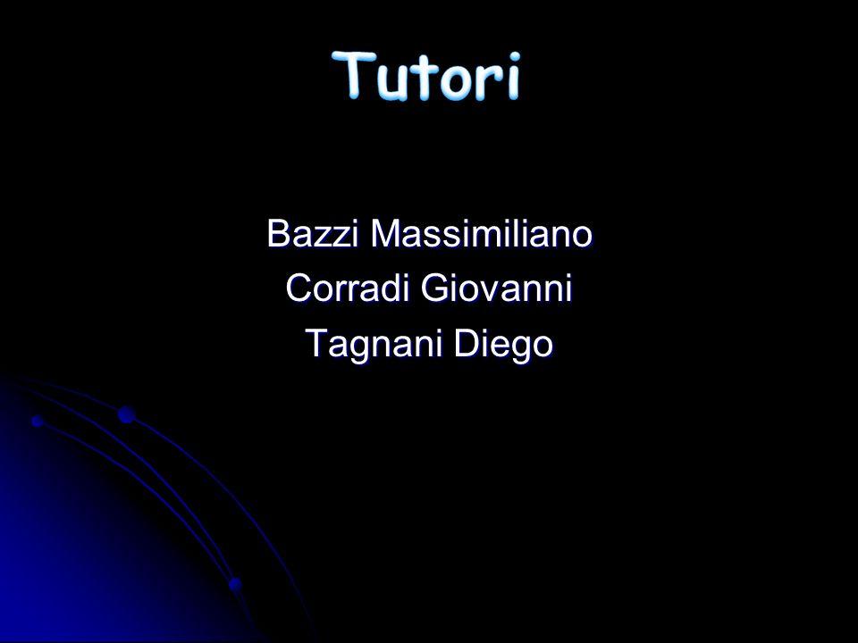 Bazzi Massimiliano Corradi Giovanni Tagnani Diego