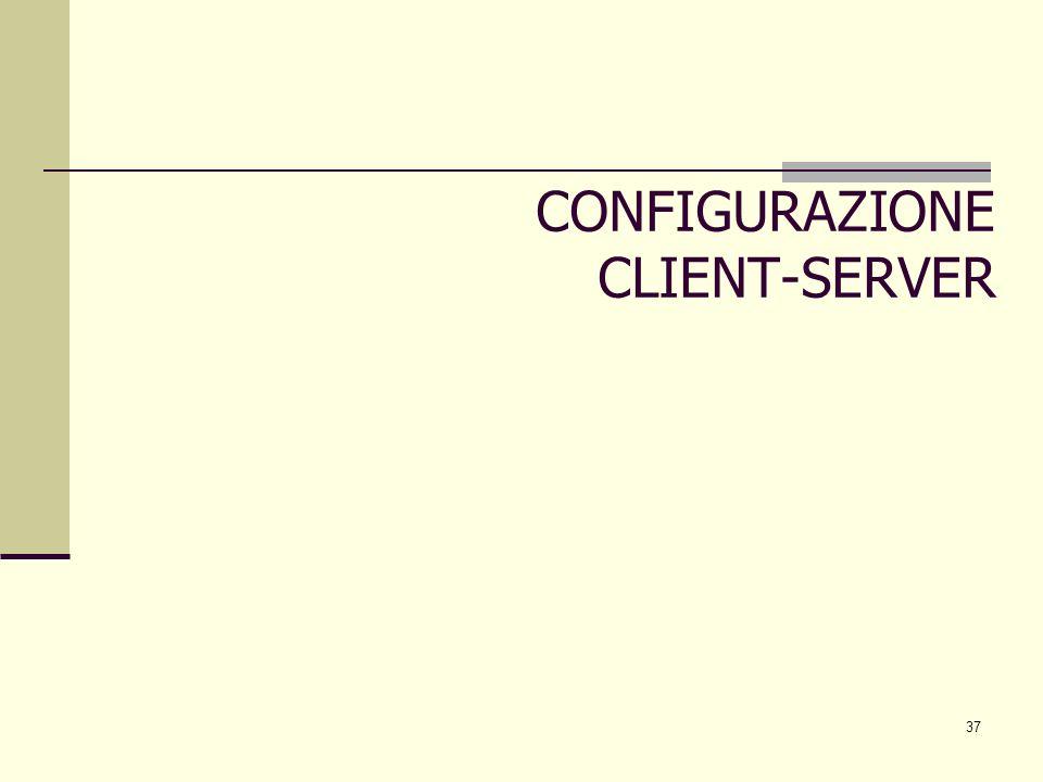 37 CONFIGURAZIONE CLIENT-SERVER