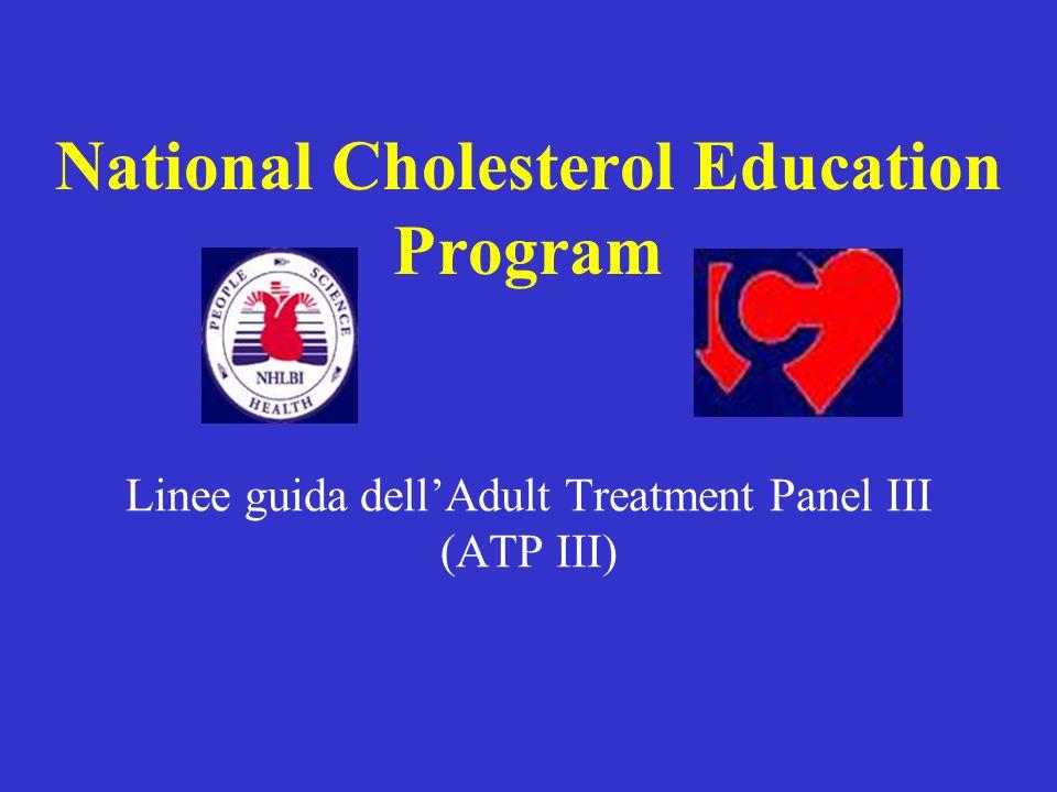Linee guida dellAdult Treatment Panel III (ATP III) National Cholesterol Education Program