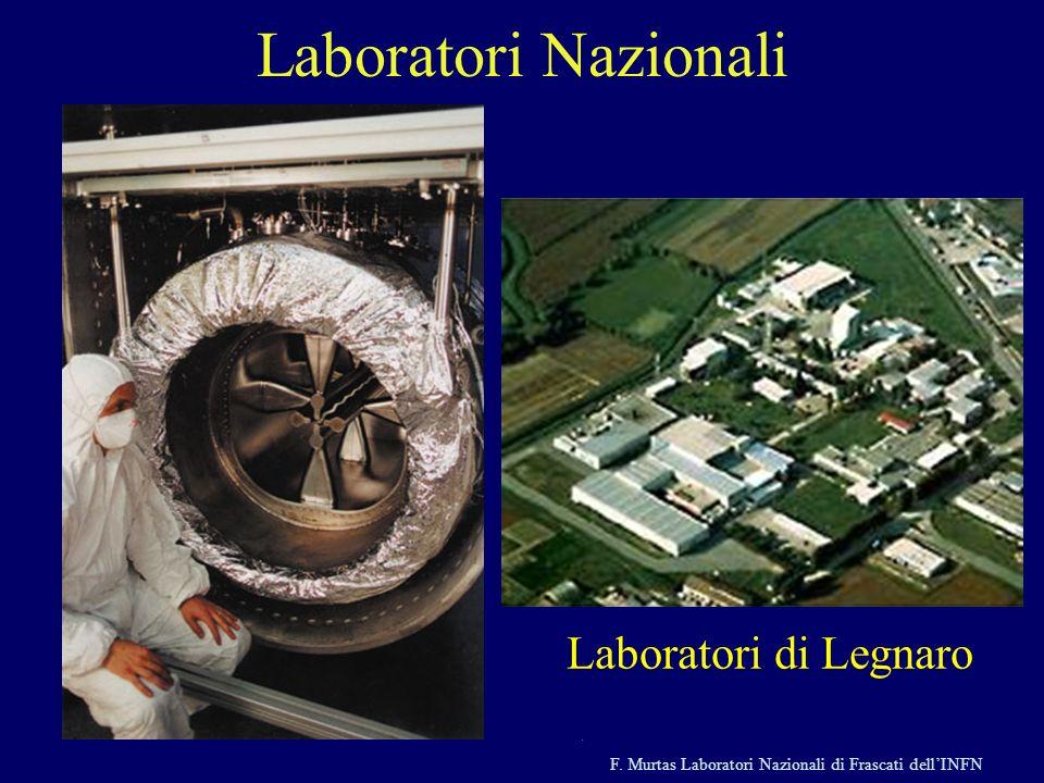 F. Murtas Laboratori Nazionali di Frascati dellINFN Laboratori Nazionali Laboratori di Frascati Laboratori del Sud, Catania Laboratori di Legnaro