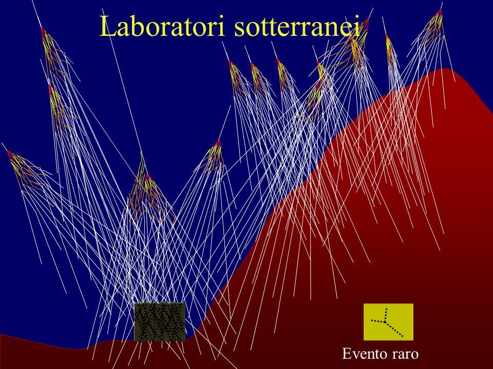 F. Murtas Laboratori Nazionali di Frascati dellINFN Laboratori sotterranei Evento raro