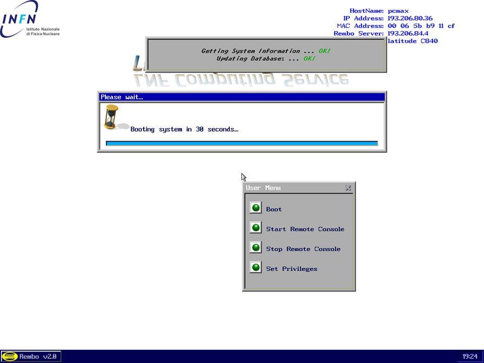 26 maggio 2004Servizio di Calcolo dei LNF49