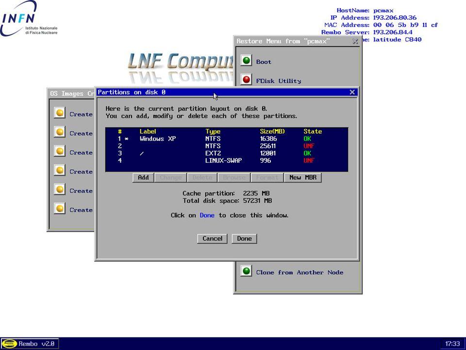 26 maggio 2004Servizio di Calcolo dei LNF53