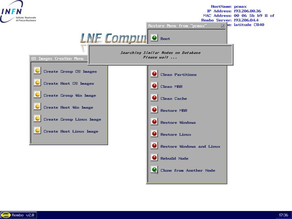 26 maggio 2004Servizio di Calcolo dei LNF54