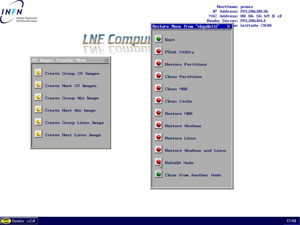 26 maggio 2004Servizio di Calcolo dei LNF57