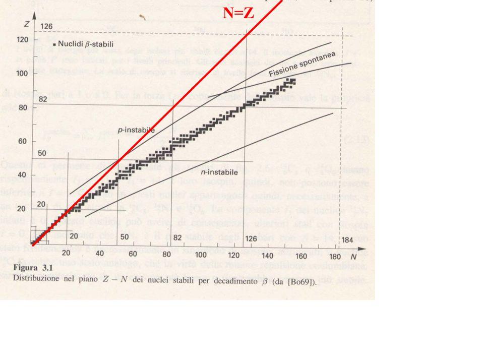U235 7.037 E8 y Th231 25.52 h Pa231 3.276 E4 y Ra223 11.4 d Th227 18.2 d Ac227 21.6 y Rn219 4 s Po215 1.8 E-3 s Pb211 36.1 m Bi211 2.15 m Tl207 4.79 m Po211 0.516 s Po207 stabile 1.4% 0.2% 99.8 % Famiglia Radioattiva Naturale dellU235 (4n+3) Fr223 21.8 m -
